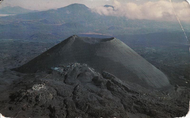 Postcards of paricutin volcano
